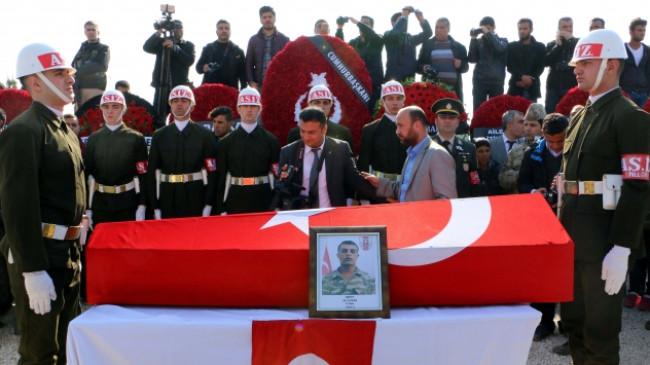 Şehit Piyade Onbaşı Ali Aydar son yolculuğuna uğurlandı
