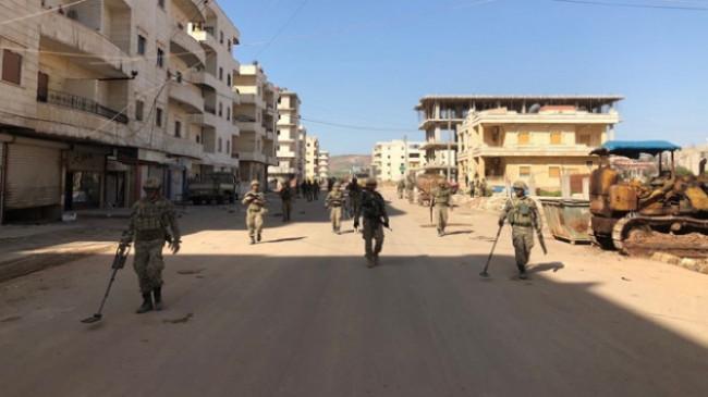 Afrin'e girişler geçici olarak durduruldu